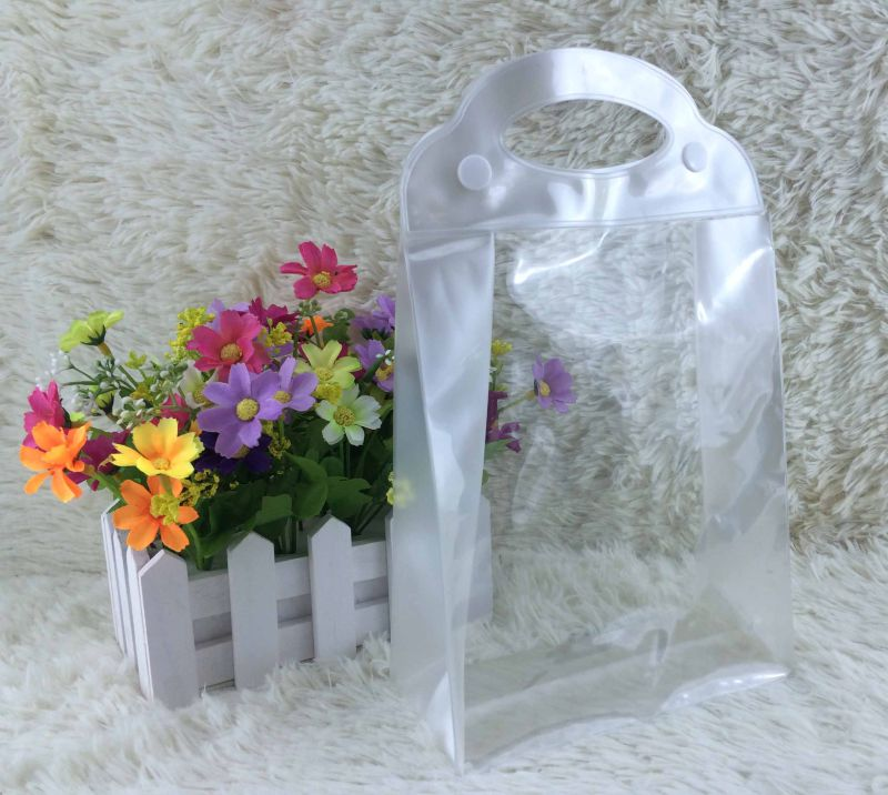 Clear PVC Cosmetic Bag for Packing
