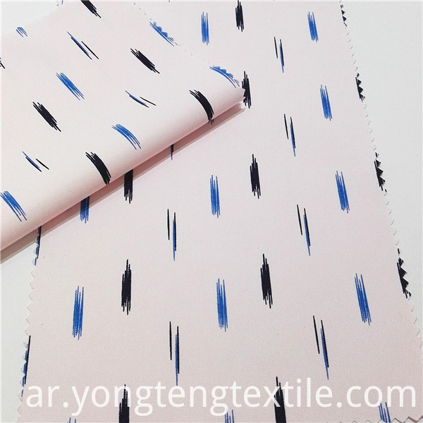 55%Poly 45%Cotton Print Shirt Fabric