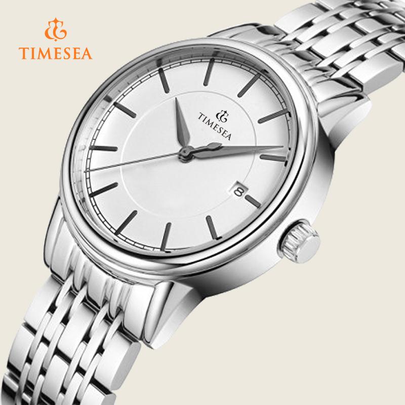 High Quality Leather Strap Wristwatch Elegance Analog Quartz Watch Relogiof 72355