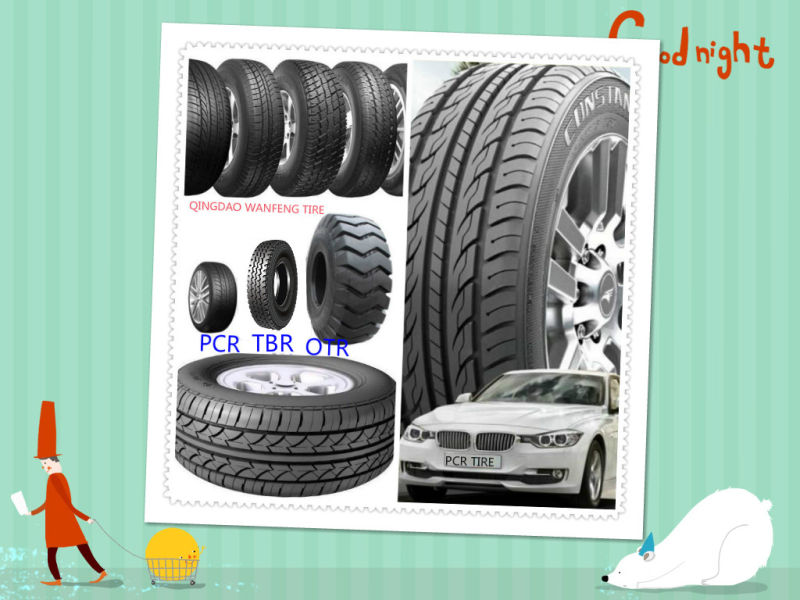 China Car Tyre, PCR Tire From China Manufacture