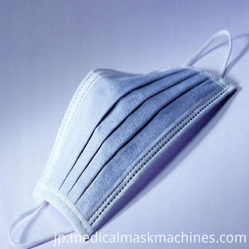 Automatic mask production line