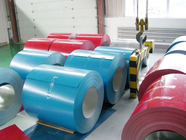 Color Coated Steel Coil of Thin Thickness