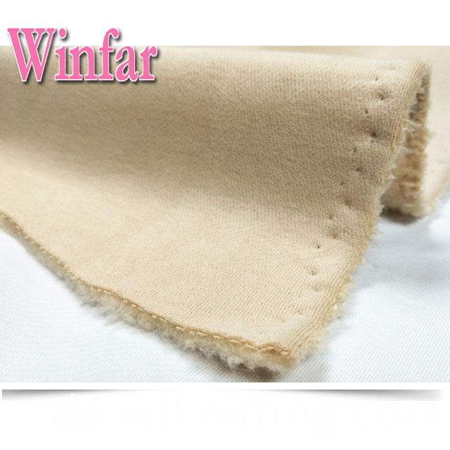 100% Polyester Fleece Knitted Fabric