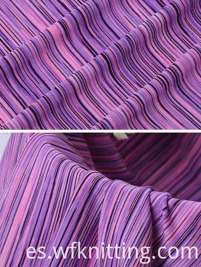 Breathable Soft Comfortable Stripe Fabric