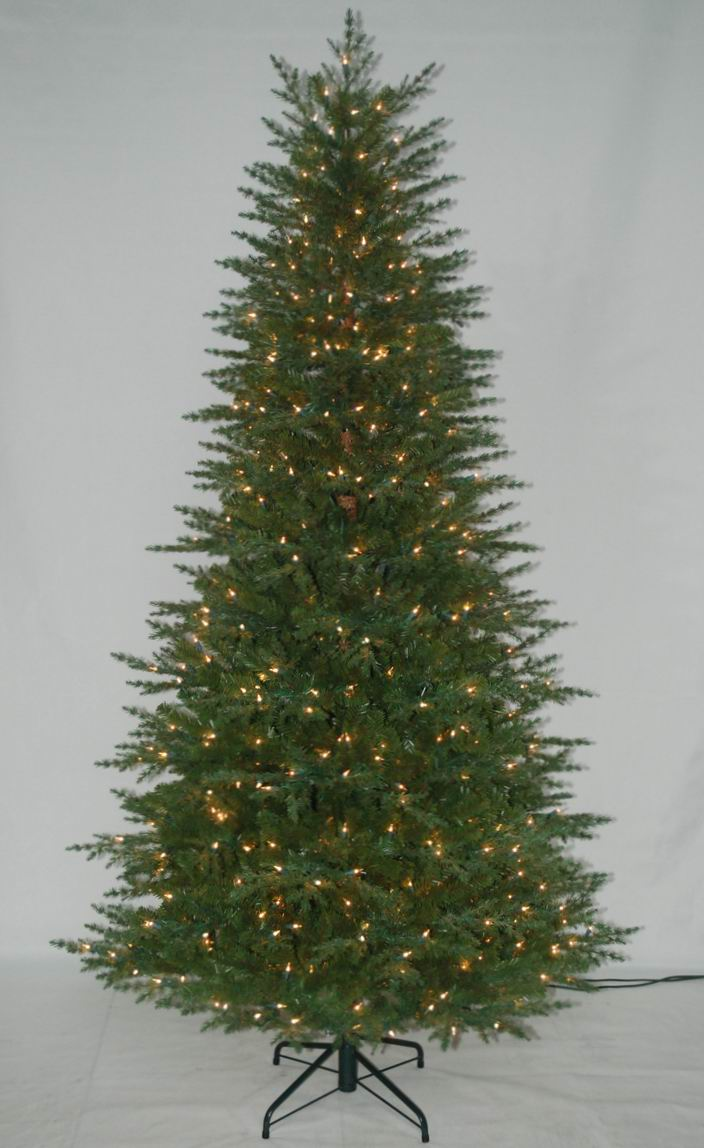 Jute Wrap Base Artificial Christmas Tree with String light Multi Color LED Decoration (AT2029)