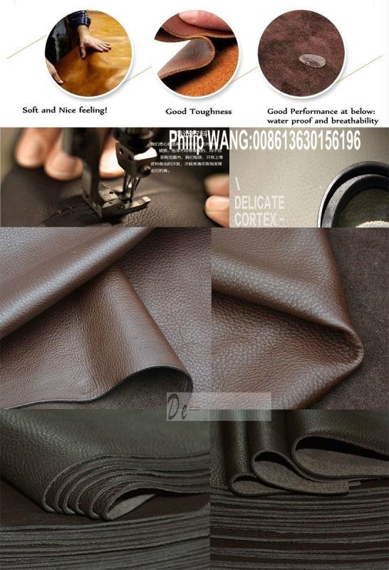 L Shape Modern Leather Sofa, Home Furniture (M0415)