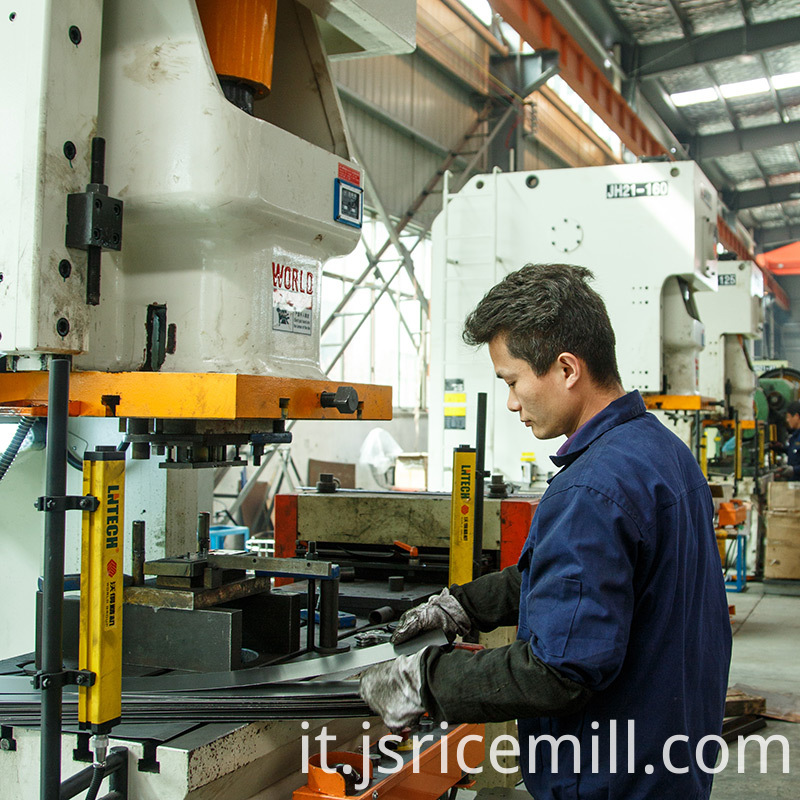 Combined Rice Mill Machine test