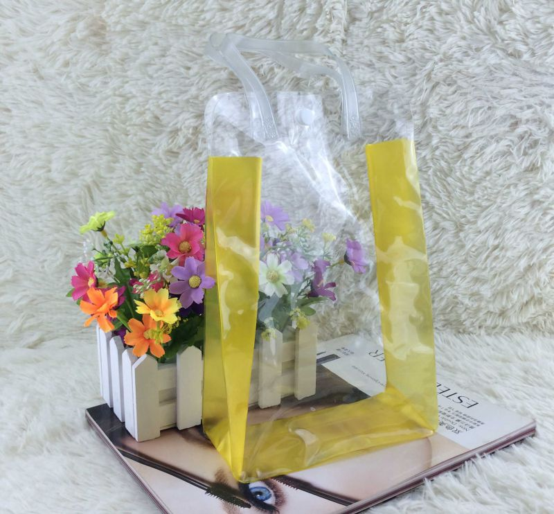 Plastic Gift Bag for Cosmetic and Storage