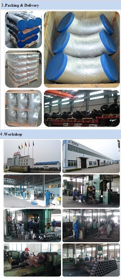 90deg Lr Seamless Carbon Steel Elbow