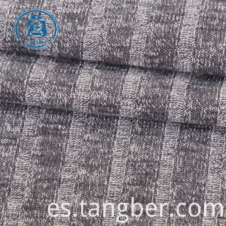 striped hacci fabric