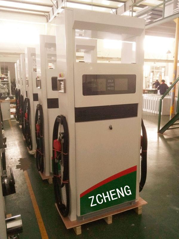 ZCHENG Double Nozzle Petrol Filling Station Fuel Dispenser