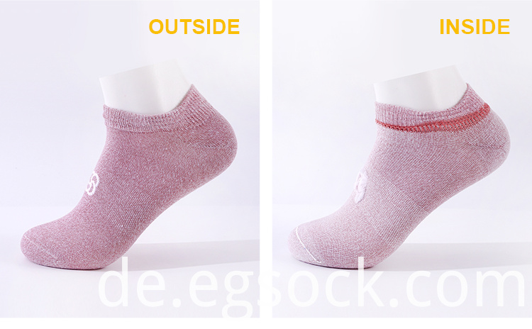 Antibacterial Blank Athletic Running Socks