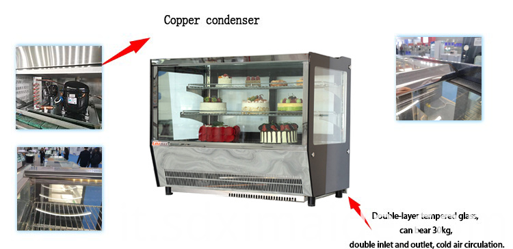 Display Counter Fridge