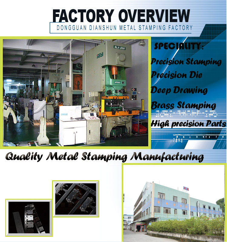 Customized Stamping Products Made in Dongguan