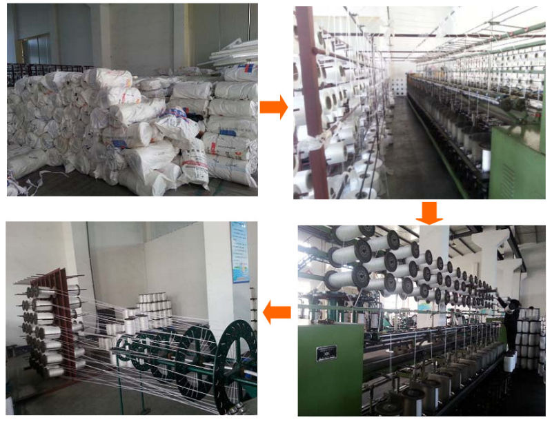 12 -Strand Chemical Fiber Ropes Mooring Rope Polypropylene, Polyester Mixed