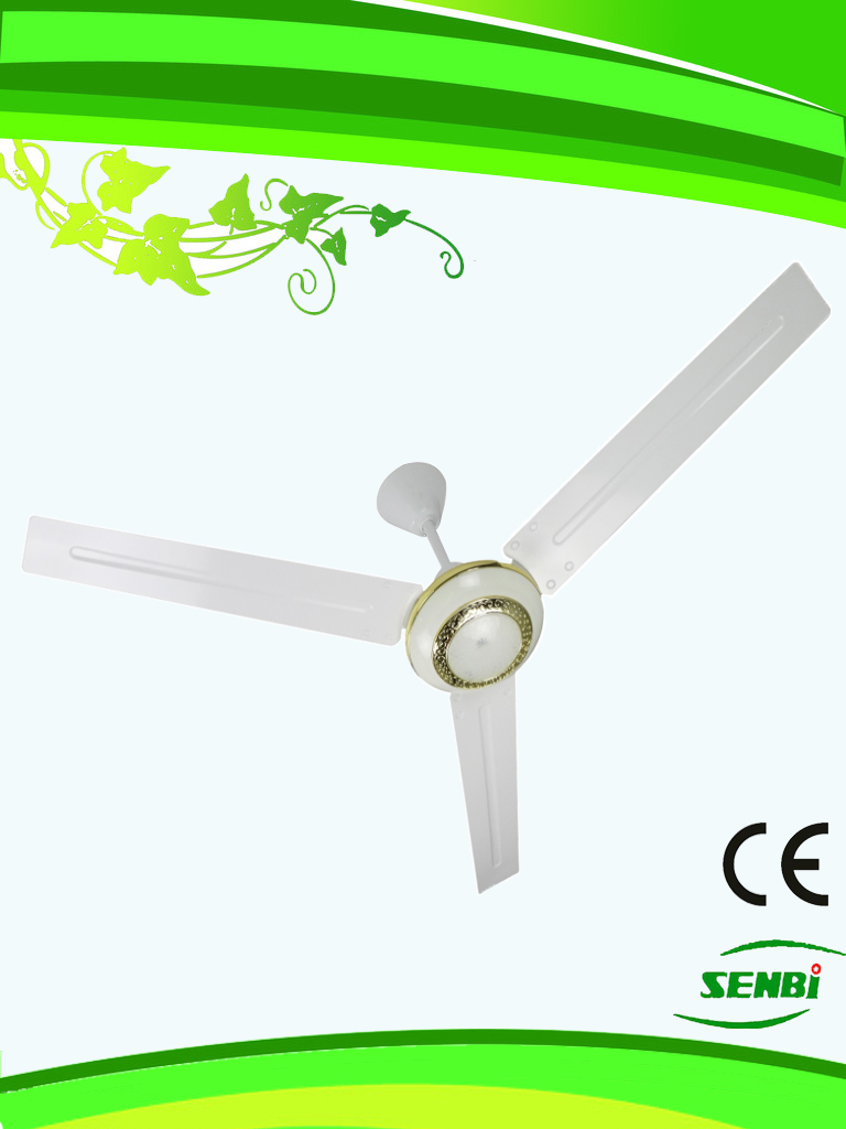 AC110V 48inches Solar Ceiling Fan Indoor (FC-48AC-G)