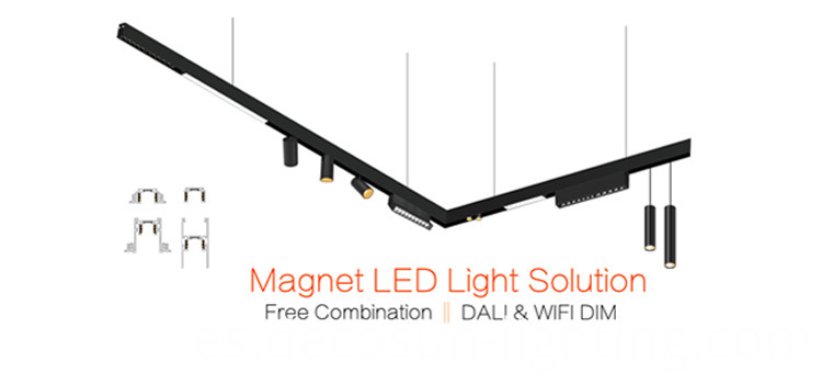 Led Magnetic Track Light