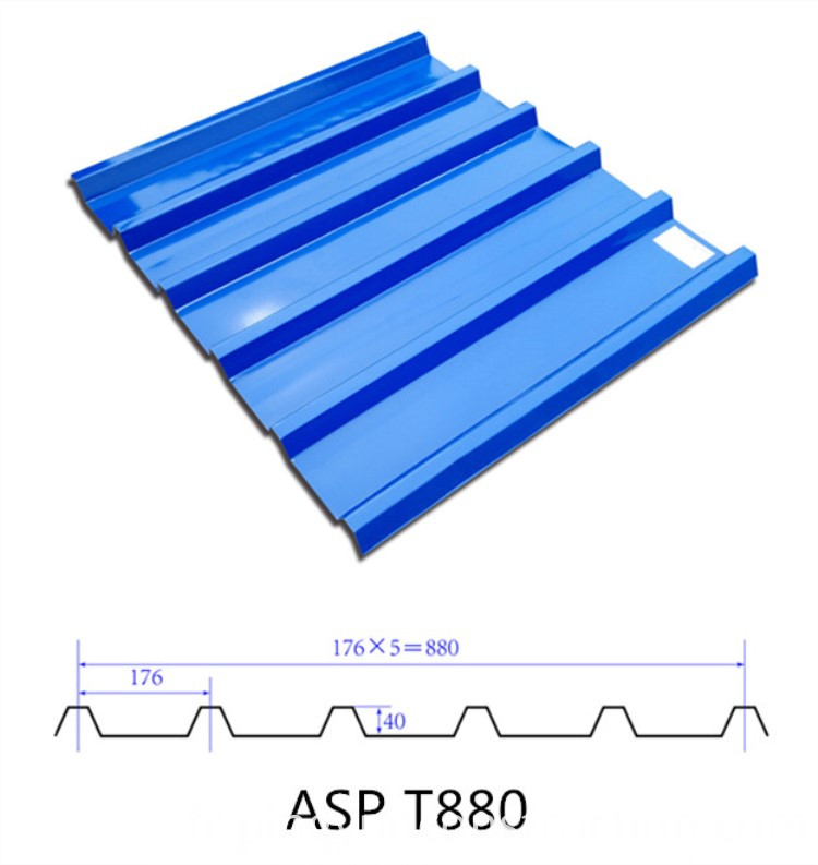 ASA Steel PVC Roof Sheet