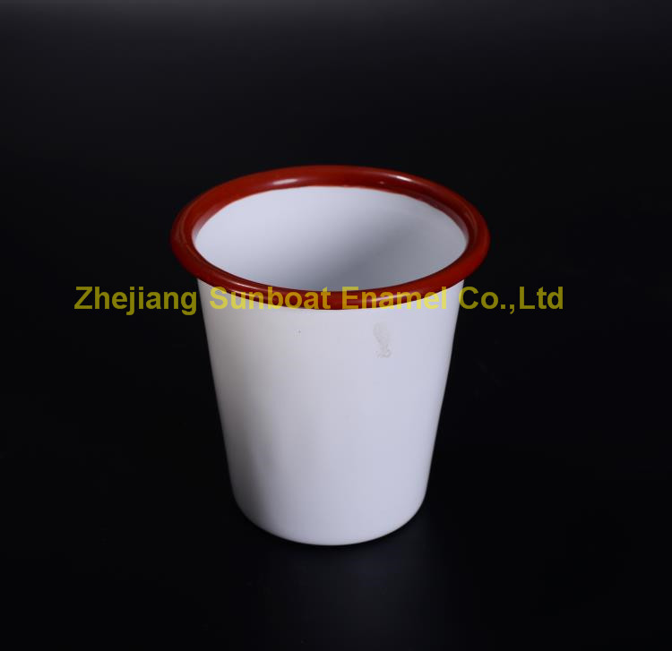 Houseware Tableware Carbon Steel Enamel Bowl+Tumbler
