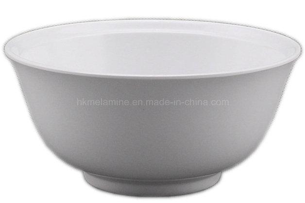 White Round Melamine Soup Bowl (BW7183)