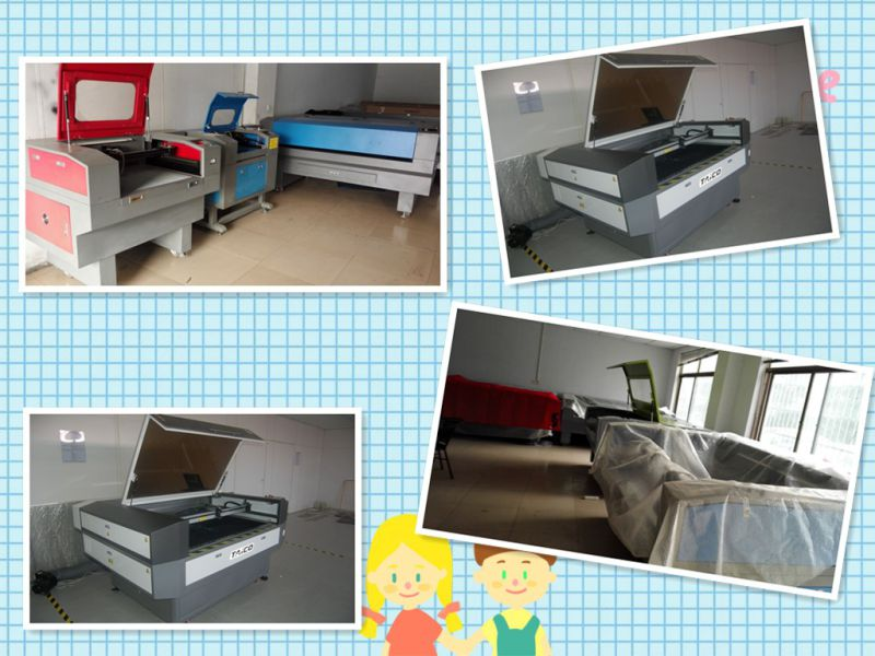 Automatic Laser Cutting and Engraving Machine for Textile Industry