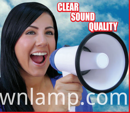 Electric Portable Megaphone