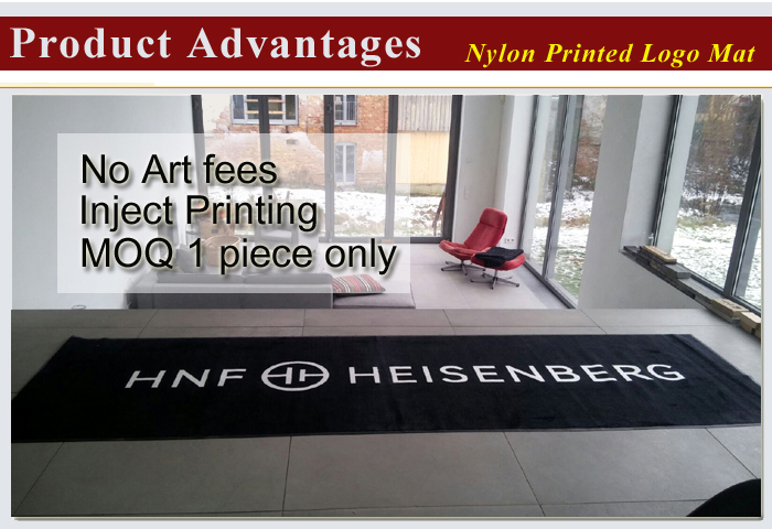Best Quality Waterproof Custom Printed Outdoor Carpet with Logo