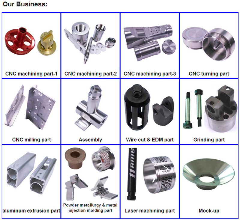CNC Machined Part for Various Indutrial Use (Turning and Milling)