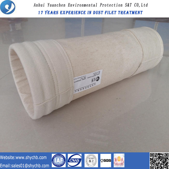 Dust Collector Nonwoven Nomex Filter Bag for Asphalt Plant