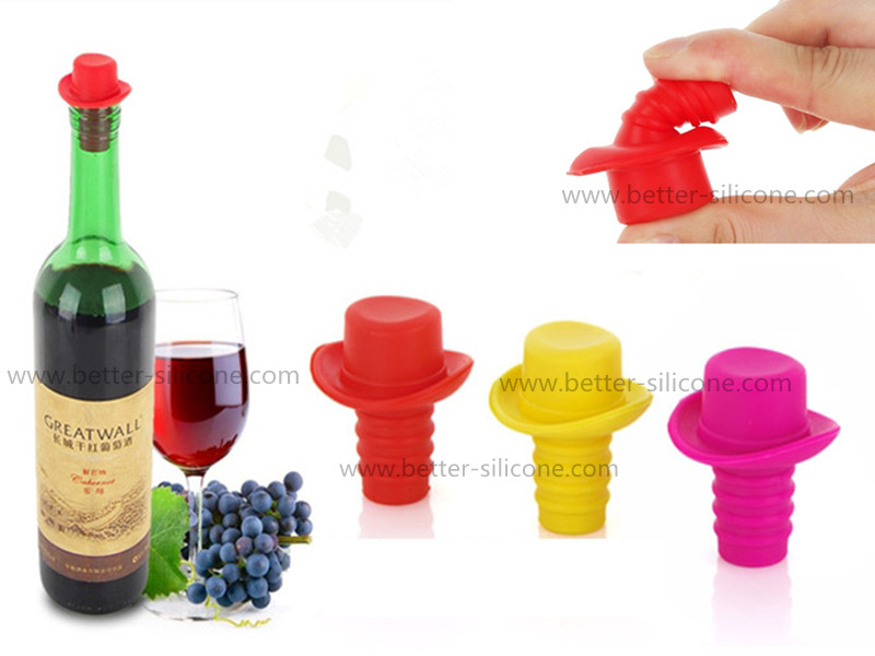 Custom Best Personalized Rubber Wine Bottle Stoppers for Sealing