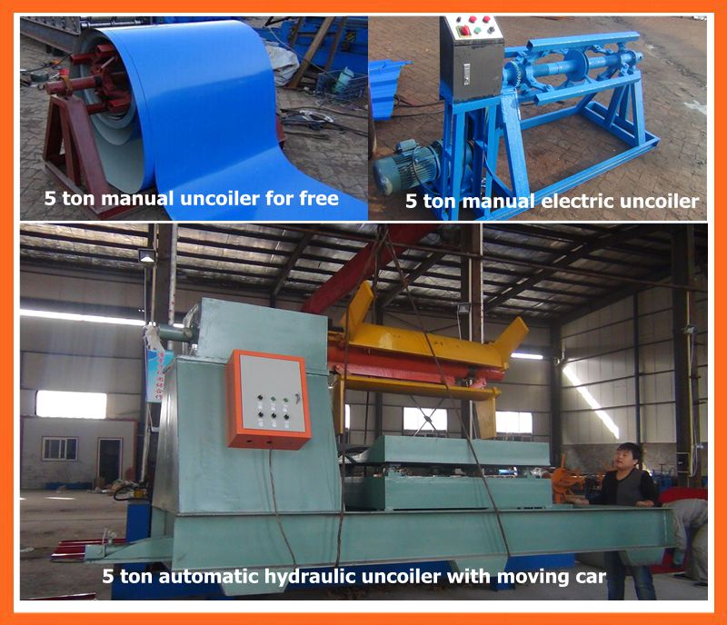 Dx Cheap Roof Tile Roll Forming Machine