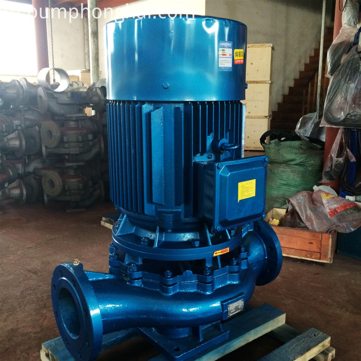 ISG cast iron pump