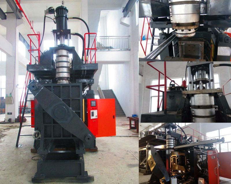 Extruder Blow Moulding Type and PE Plastic Processed Blowing Machine
