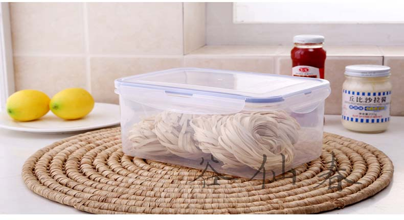 Large Transparent Sealed Box with Handle