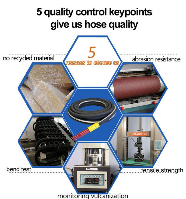 Heavy Duty Rubber Corrugated Slurry/Mud Discharge Hose