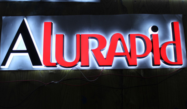 LED Back Illuminated Channel Letter Sign