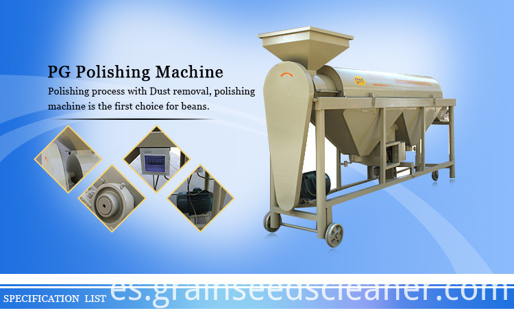 mung bean polishing machine
