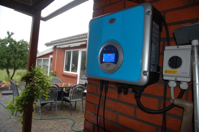 6000W 3 Phases on Grid Solar Inverter