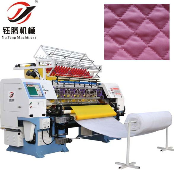 High Speed Computerized Lock Stitch Multi-Needle Quilting Machine YGB64-2-3