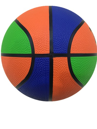 Two or Three Color Black Chanel Rubber Basketball