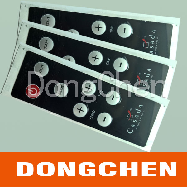 Embossing Button Dome Membrane Keyboard with Circuit