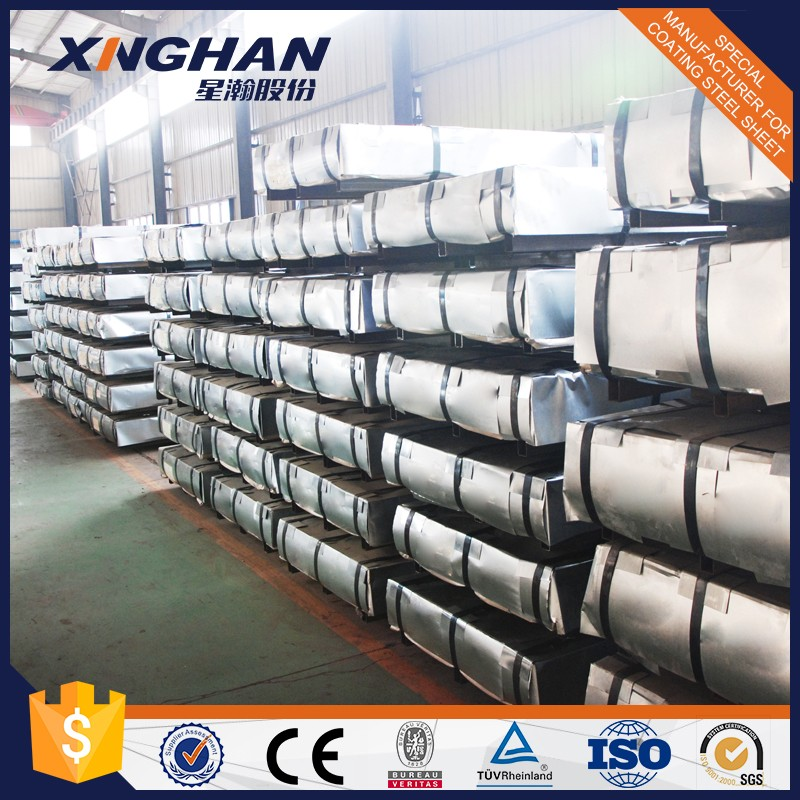 DX51D CSC galvanized colored corrugated metal roofing sheet