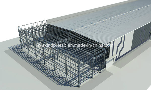 Professional Steel Structure Building Exported to Africa