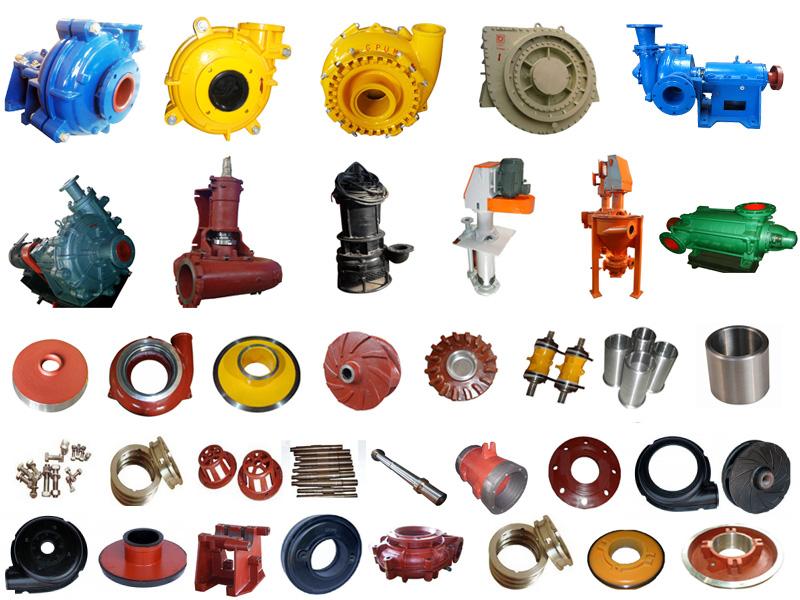 Corrosion Resistance Rubber Impeller for Slurry Pump