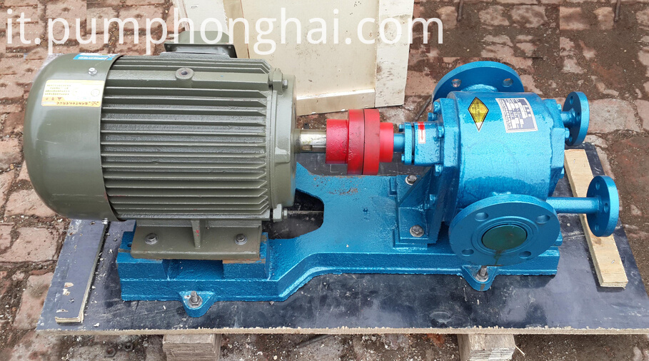 LQB cast steel material bitumen gear pump