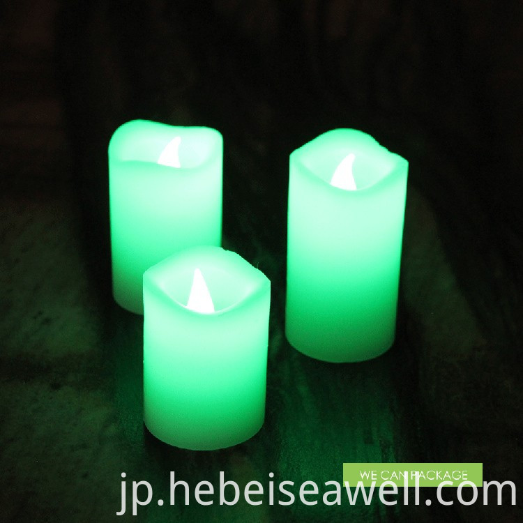 Color-changing LED Candle