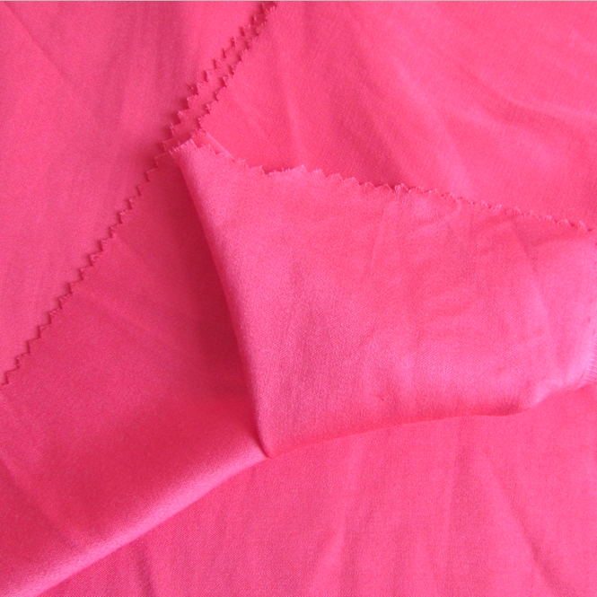 White Satin Drill Fabric 100 Rayon Twill Weave for Shirt