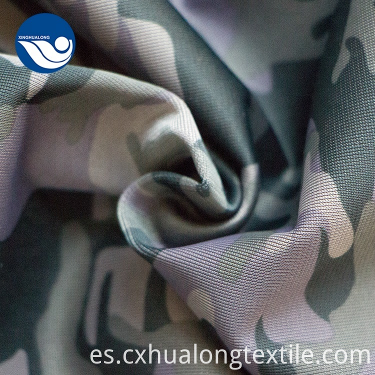 Military Blue camouflage fabric