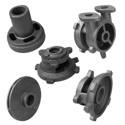 Competitive Price Ggg50 Ductile Cast Iron Product From China Foundry