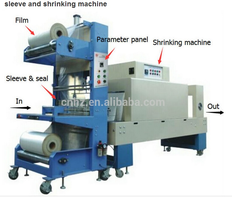 St6030 Hot Sale Edge Banding Automatic Shrink Wrapping Machine